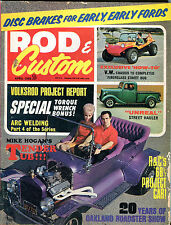 Rod & Custom Magazine April 1968 Volksrod Project Report VGEX 021116jhe