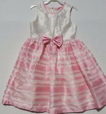 255086661c Jayne Copeland Girls Dress Pink   Ivory Size 6 Dressy Formal Excellent  Condition