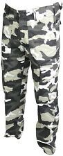 Mens Combat Trousers Tactical Work Wear Cargo Pocket Outdoor Army Security Pants