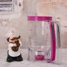 New 900ML Pancake Batter Dispenser Muffin Helper Mix Pastry Jug Baking Random