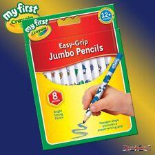 My First Crayola 8 Easy Grip Jumbo Decorated Pencils