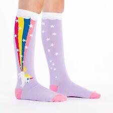 Sock It To Me Junior Knee High Socks - Rainbow Blast - Age: 7-10