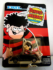 Vintage Ertl Dennis the Menace in Car Diecast Model.- Mint/Mint Blister Pack.