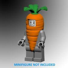 2 LOT - Custom Carrot Suit Costume for YOUR LEGO ® Minifigure - LTD EDITION!