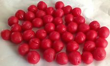 Siegelwachs Wachskugeln Rot ~1cm 50 Stück Kerzen gießen Hobby, Freizeit, Basteln