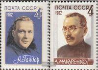 Sowjet-Union 2684-2685 (kompl.Ausg.) postfrisch 1962 Schriftsteller