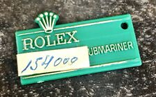 Rolex Submariner green tag étiquette 1680 5512 5513 5514 Tropical Doré Cadran Rouge