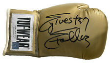 Sylvester Stallone Rocky Balboa Autographed Tuf Wear Gold Boxing Glove ASI Proof