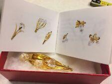 956 Beautiful Swarovski Crystal Memories Brooch 1996