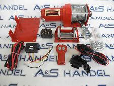 Dragon Winch 12 Volt Seilwinde für ATV Quad mit Fernbedienung 2500lbs 1133kg
