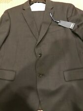 Men's Tommy Hilfiger Nathan Suits 46R, 100% Worsted Wool, Charcoal Gray, NWT
