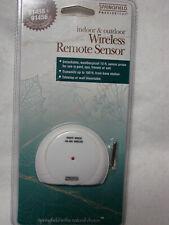 Wireless Remote Temperature Sensor:  Pool, Spa, Freezer - Indoor & outdoor