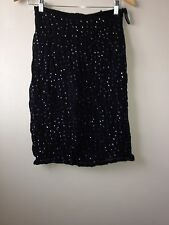 French Connection Ladies Skirt Black Size 8<NH769