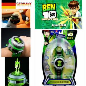 Omnitrix Uhr BEN 10 Ten Projektor Alien Force Illuminator Armband Kinderspielzeu