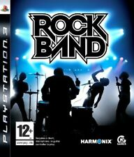 Rock Band RockBand PS3 VERY GOOD CONDITION ORIGINAL GAME CASE WITH MANUAL