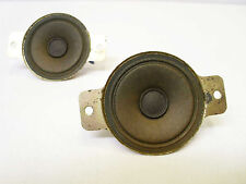 "2x Vintage National Panasonic Tweeter Speakers 5PH34SB 8 Ohm 2"" Made In Japan"
