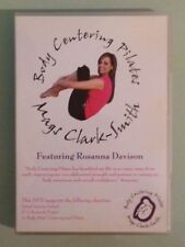 mags clark smith / rosanna davison  BODY CENTERING PILATES   DVD