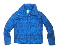 Patagonia Women's Jacket Size M Blue Puff Insulated Outdoor Layer