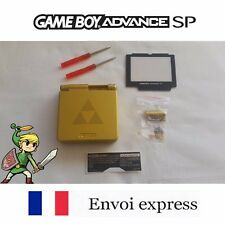 Coque GAME BOY ADVANCE SP or ZELDA edition NEUF NEW + tournevis - shell case GBA