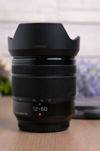 Panasonic Lumix G Vario 12-60mm f/3.5-5.6 ASPH. POWER O.I.S. Lens w/ND Fader