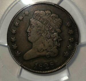 1826 1/2C Classic Head PCGS VF35