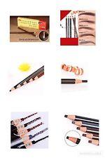 12pc Eyebrow Pencil Colored Soft Cosmetic Art Permanent Waterproof Tattoo NI