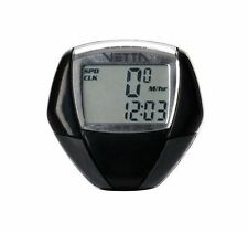 New Light Weight Vetta RT Classic cycle computer Black and Gray Free P&P