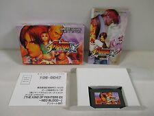 GBA - The King of Fighters - Box. Can data save! Game Boy Advance, JAPAN. 36153