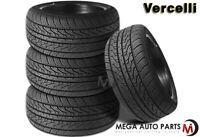 4 New Vercelli Strada II Strada-2 245/45R20 103W XL All Season Performance Tire