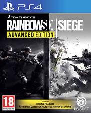 Rainbow Six Siege Advanced Edition Ps4