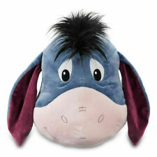 "DISNEY EEYORE PLUSH PILLOW 15"" FROM WINNIE POOH AUTHENTIC DISNEY NEW TAGS"