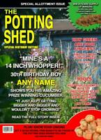 Personalised Gardening Birthday Card Allotment Spoof - Any Name & Age
