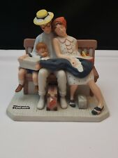 "Norman Rockwell Figurine   ""Home from Vacation"" The Danbury Mint"