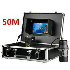 "7"" Monitor 50M Cable 360 degree Underwater Fishing Fish finder CCD Camera 700TVL"