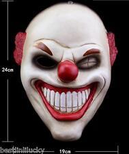 game Payday 2 mask red nose Joker Clown prop harvest dayrob masquerade cosplay