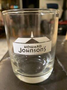 VINTAGE HOWARD JOHNSON'S  DRINKING GLASS