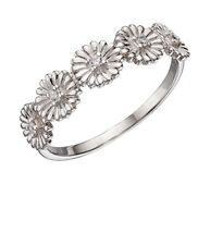 Elements Silver - Daisy Ring - Size R -   New in Box - Sterling Silver