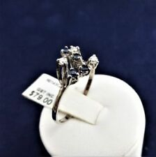 Handmade Blue Sterling Silver Fine Rings