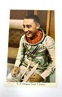 Vintage Postcard U.S. Air Force Astronaut Virgil GUS Grissom Portrait NASA