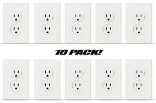 Fake American Standard Wall Outlet Stickers Plug Decals Vinyl Prank Joke 10 PACK