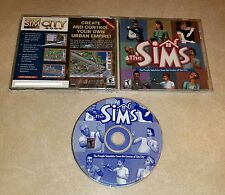 The Sims (PC, 2000) pc simulation game windows original