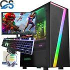 Fast Gaming Pc Computer Bundle Core I7 16gb 480gb Ssd Windows 10 Nvidia Gt 1030