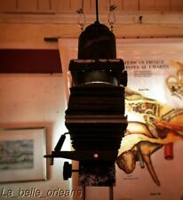 VINTAGE CUSTOM MADE PENDANT LIGHT FIXTURE / PHOTO ENLARGER . L@@k!!