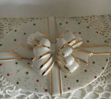 Lenox China Jewels Christmas Covered Candy Dish