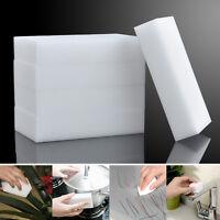 100Pcs White Magic Sponge Eraser Cleaning Melamine Multi-functional Foam Cleaner