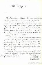 * GIUSEPPE VERDI - Feste I° Centenario 1913 - Al Municipio di Busseto 1860