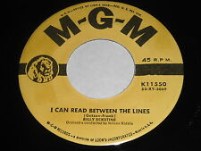 Billy Eckstine: I Can Read Between The Lines / It Can't Be Wrong 45