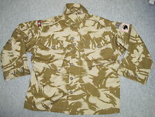 Jacket Combat TROPICAL DESERT DPM,talla 160/104 ,medio-corto,DWR & 4th armd.bde
