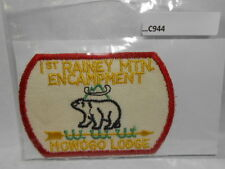 LODGE 243 MOWOGO 1ST RAINY MTN ENCAMPMENT PATCH FROM EARLY 1950'S (RARE)C944