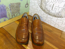 """Kenneth Cole New York Brown Leather Loafers """"Yacht Club"""" Men's 11M #M72618"""